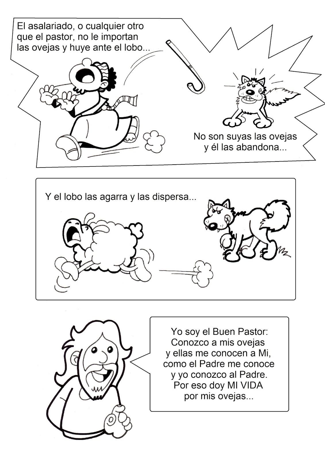 Erlijioko Irakaslea Comparacion Con El Buen Pastor
