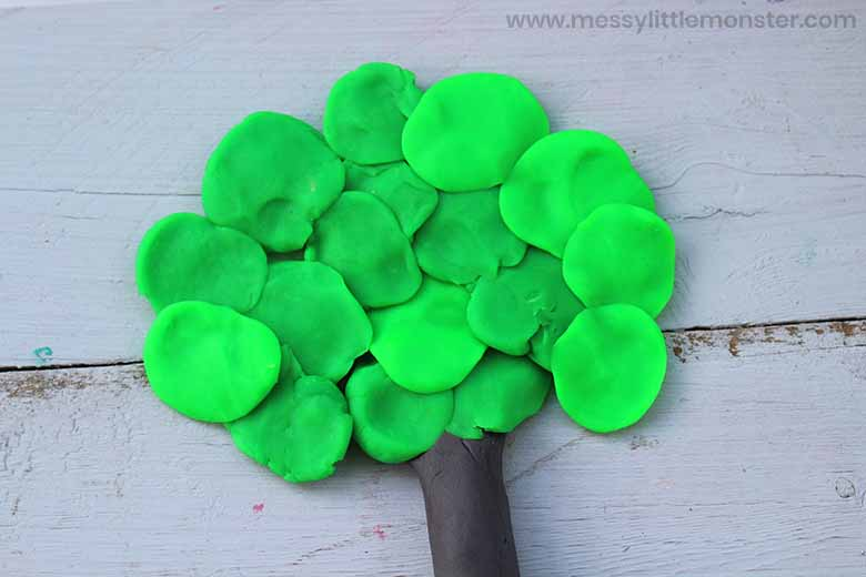 playdough activity for preschoolers