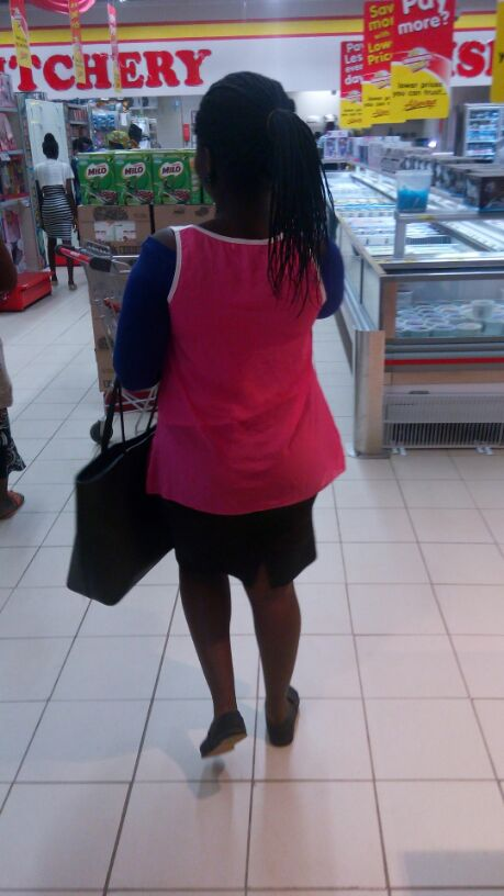 Esther Adeniyi at Shoprite Ogun