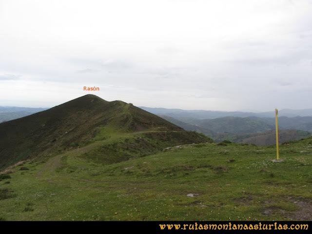 Ruta Ablaña Llosorio:  Pico Rasón