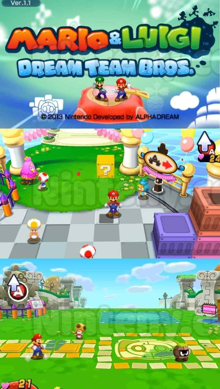 Mario & Luigi Dream Team 3DS Decrypted