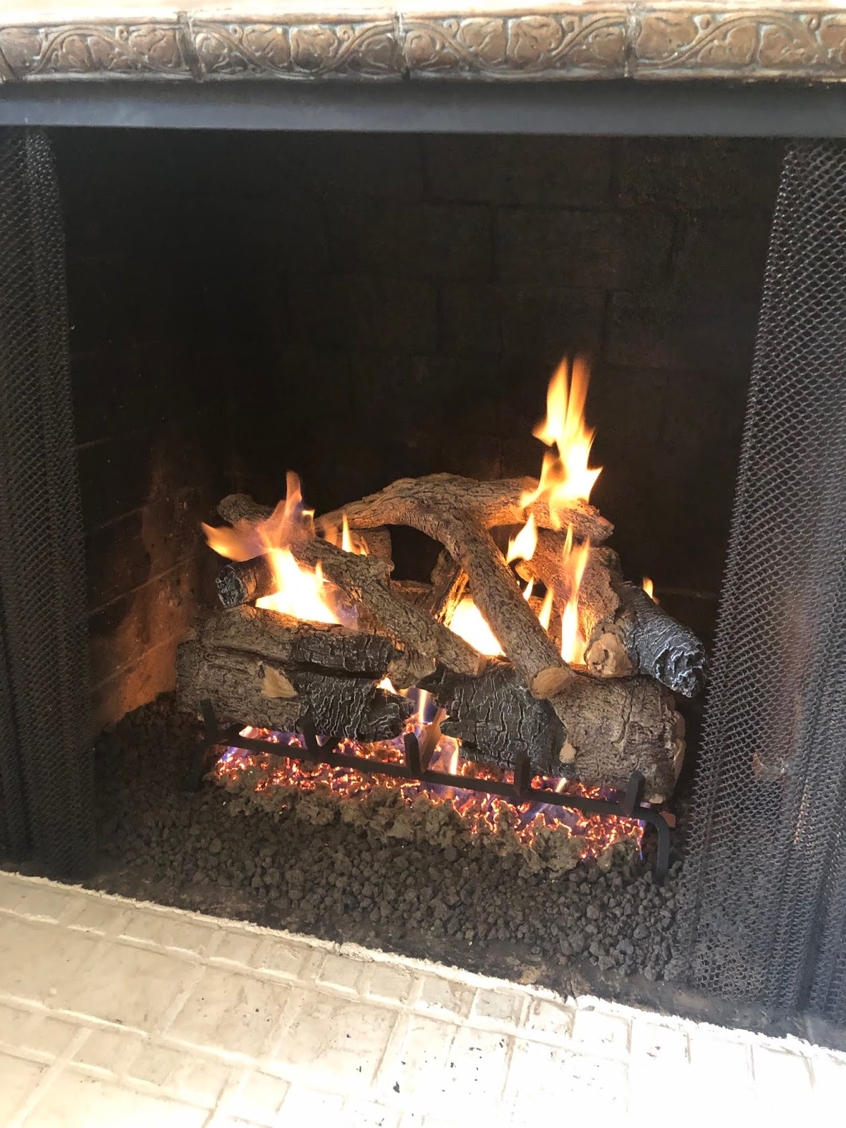 Vignette Design Converting From Wood To Gas Fireplace