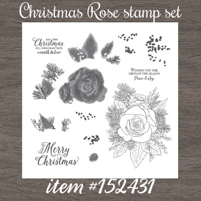 Christmas Rose stamp set - Stampin' Up!'s Christmastime is Here Medley - item #152431