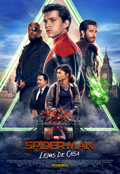 "Nuevo póster de ""Spider-Man: Far from Home""."