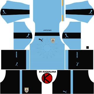 Uruguay Kits 2017 -  Dream League Soccer