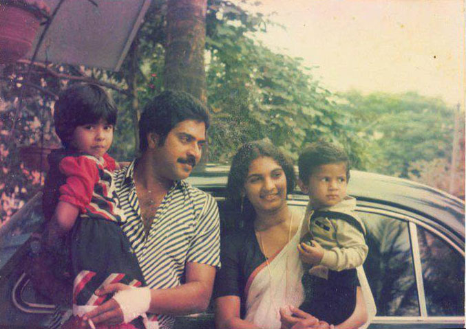 Malayalam Actor Mammootty Family Pics