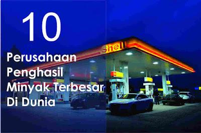 Produsen minyak terbesar di dunia