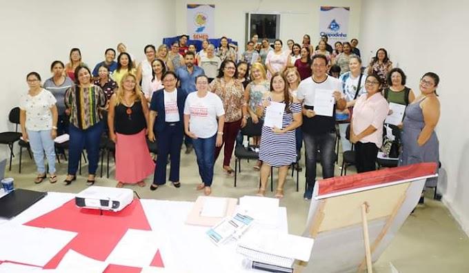 Prefeitura de Chapadinha realiza 1º Seminário Formativo Municipal do Pacto pelo Fortalecimento da Aprendizagem.