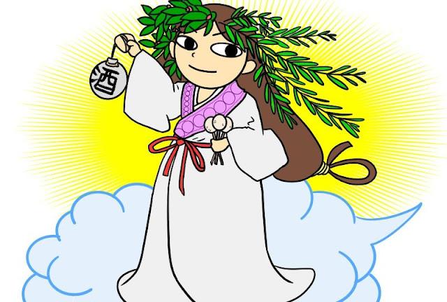 歳徳神(年神様)のイメージ図