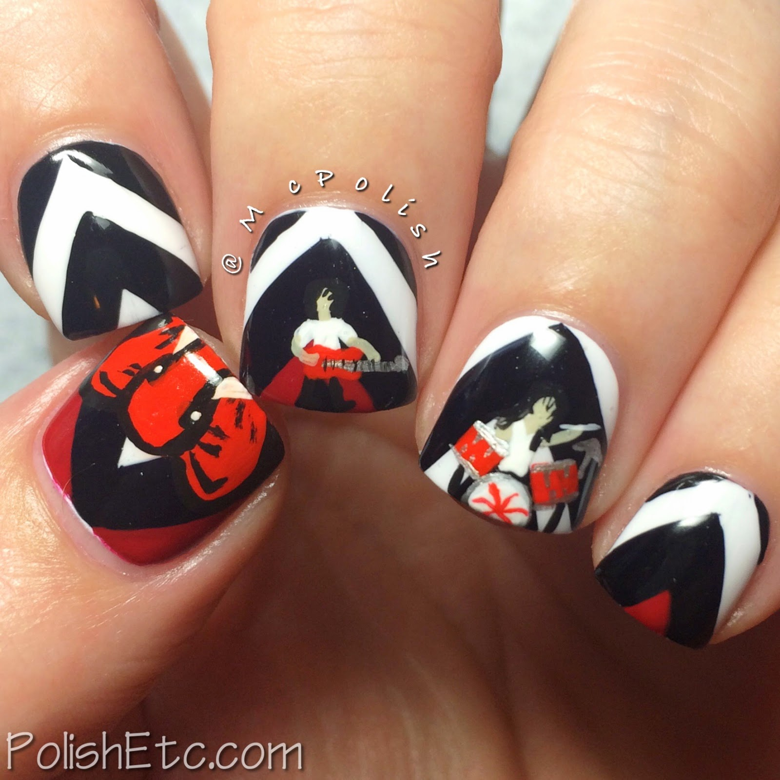 31 Day Nail Art Challenge -#31dc2014 - McPolish - SONG