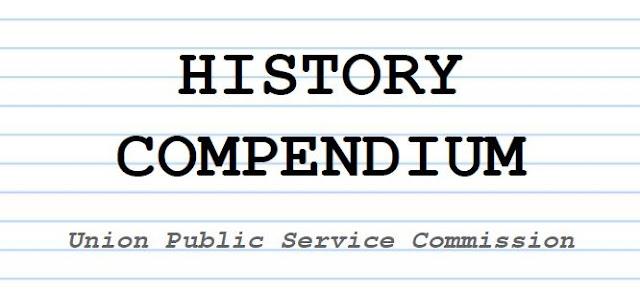 upsc history notes