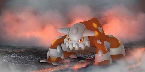 Heatran is available as legendary Pokemon in raids