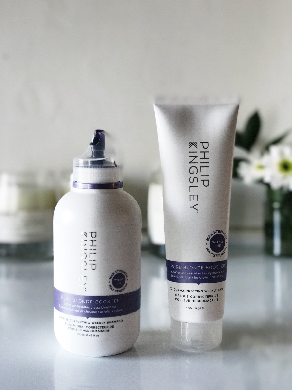 Philip Kingsley Pure Blonde Booster Shampoo Masque Review