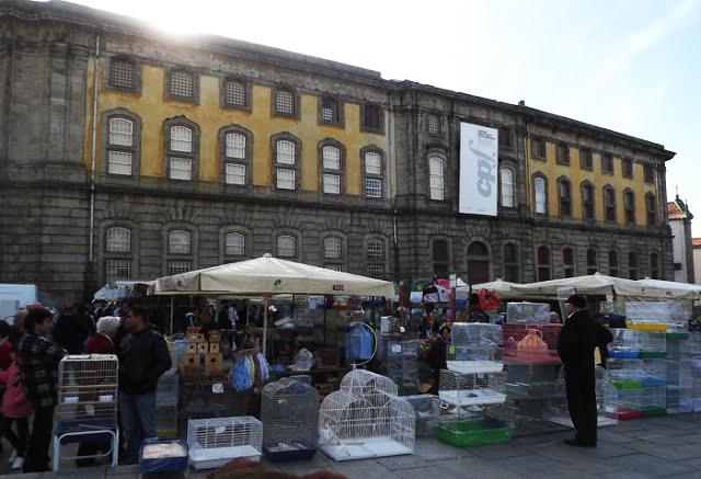 Feira dos Passarinhos do Porto na Cadeia da Relação