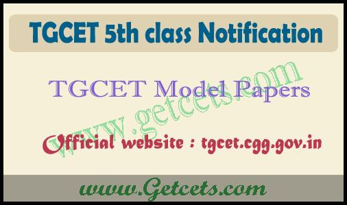 TGCET model papers 2021-2022, 5th class gurukula model paper pdf
