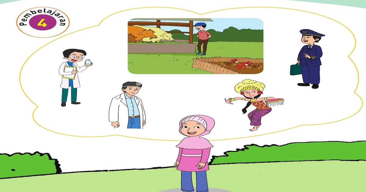 Materi Pembelajaran Kelas 4 Sd Tema 6 Subtema 1