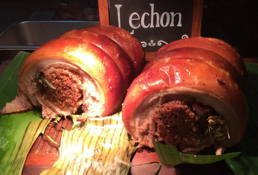 Lechon belly at NIU by Vikings