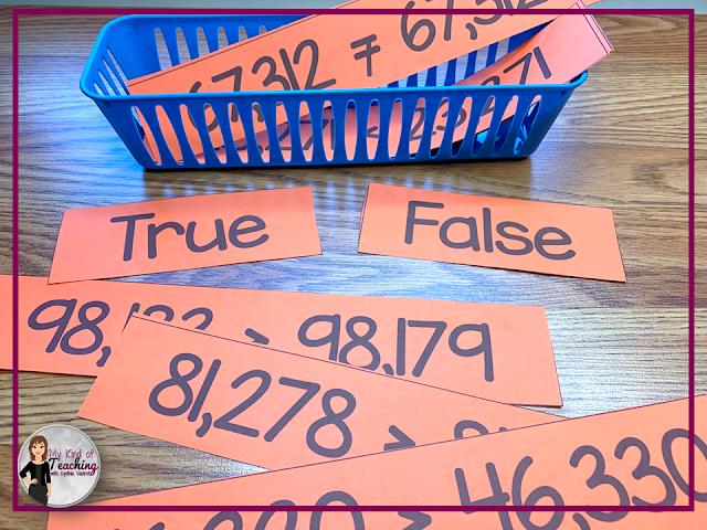 True or False Number Comparison