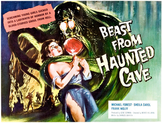 Poster - Beast from Haunted Cave, 1959