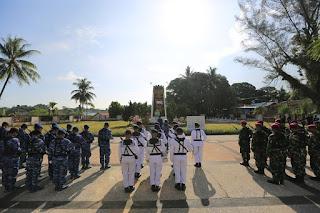 Wawali Mengikuti Upacara Ziarah Nasional Dalam Rangka Peringatan HUT TNI Ke 74