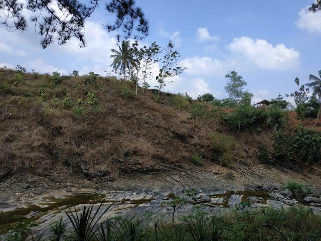 sungai kroncong dari atas