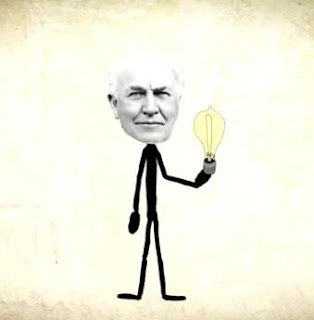 Thomas Edison generar ideas creativas
