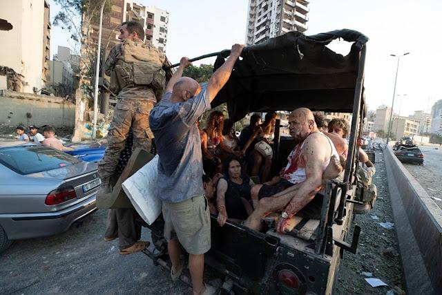 Dua Ledakan Mengoyak Beirut, Ibukota Libanon