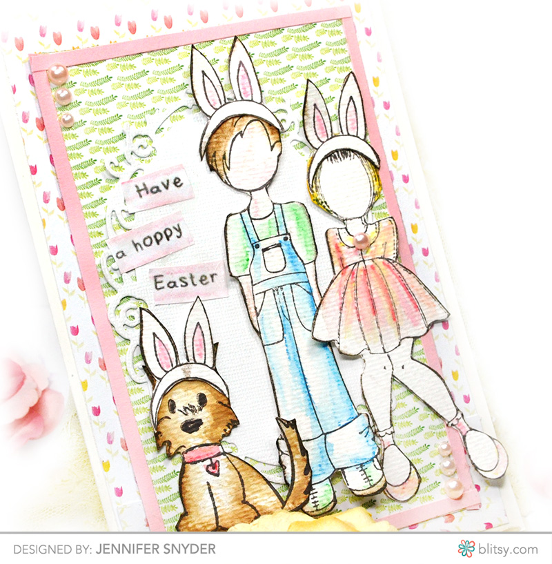 Julie Nutting Easter Card