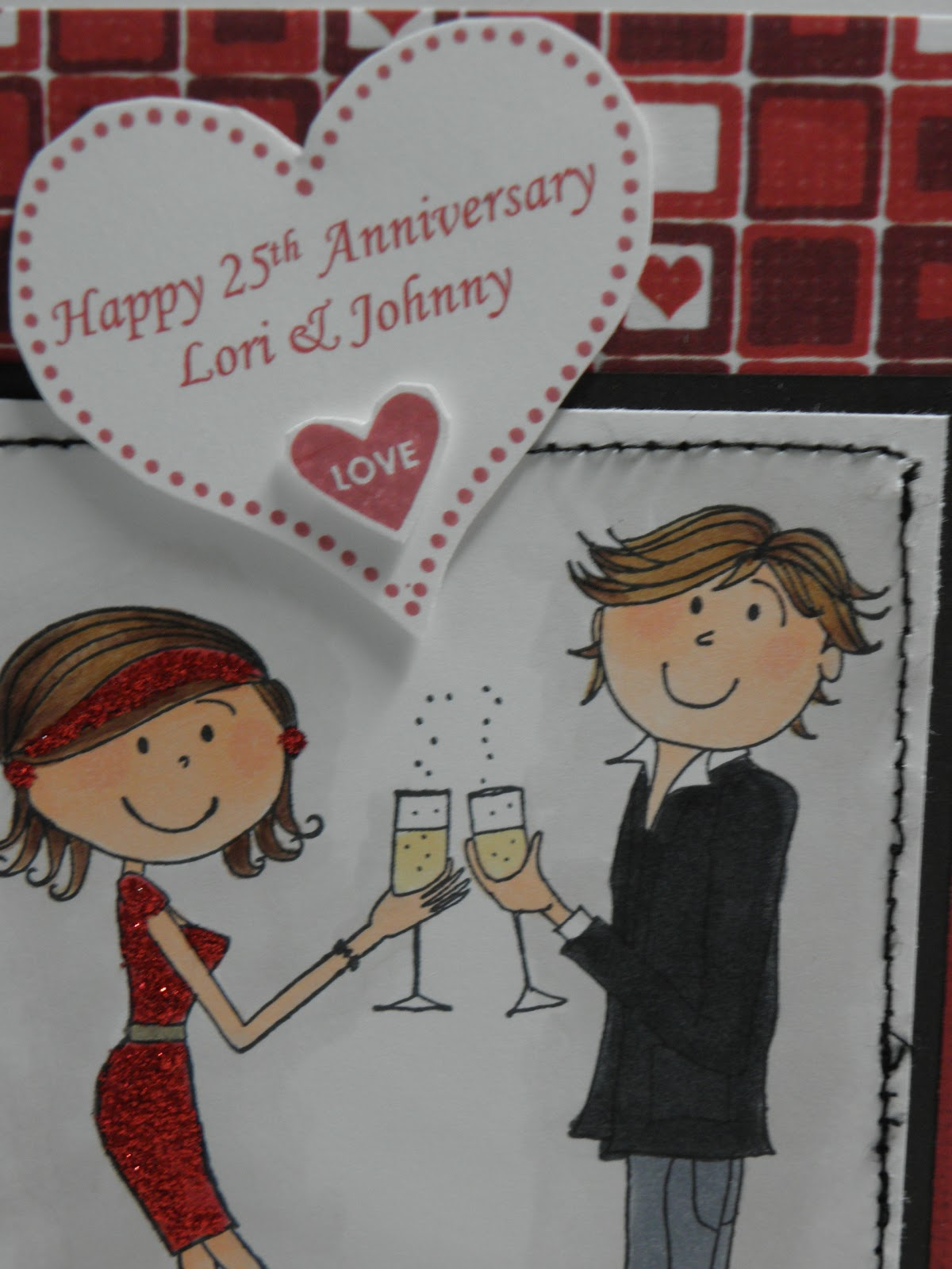 Th Wedding Anniversary Cake Card Images