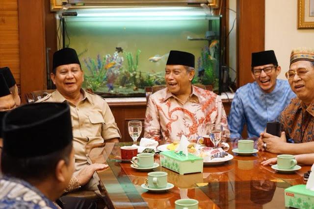 Datangi PBNU, Pengamat: Prabowo-Sandi Sedang Menggempur Pertahanan Jokowi
