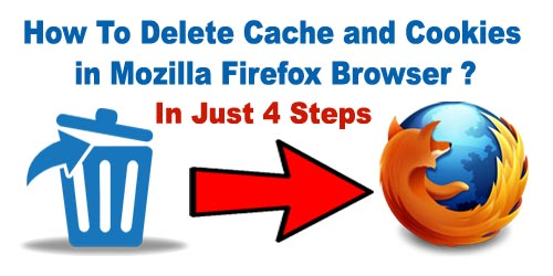 how to delete your cookies on firefox