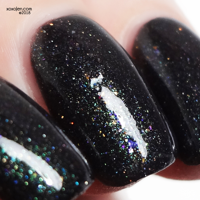 xoxoJen's swatch of Leesha's Lacquer Everything Under the Kitchen Sink