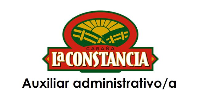 Auxiliar administrativa - La Constancia