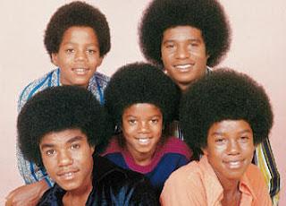 Jackson Five com Black Power