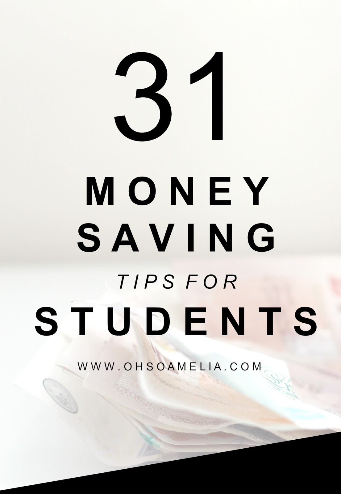 Starting college or Uni this year? Check out these 31 money saving tips for students which are bound to save you money!