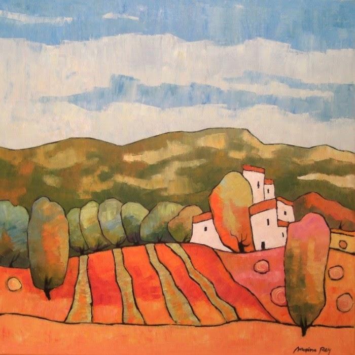 Французская художница. Marina Rey