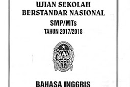 SOAL USBN (Ujian Sekolah Berstandar Nasional) SMP Tahun 2018