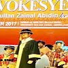 Syahrul YL,Raih Kehormatan Tinggi Dari University Sultan Zainal Abidin (Unisza) Malaysia