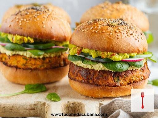 receta-cubana-de-hamburguesa-vegetariana