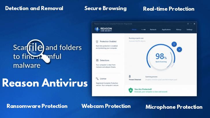 Reason Antivirus  - Reason 2BAntivirus - A Free Antivirus for Privacy-Focused Users