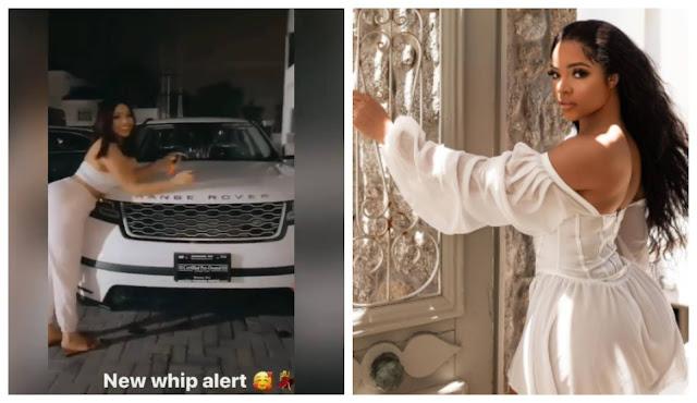 BBNaija Star, Nengi buys a New Range Rover (Video)