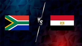 مشاهدة مباراة مصر وجنوب افريقيا بث مباشر يلا شوت اليوم 10-06-2021 في مباراة وديه