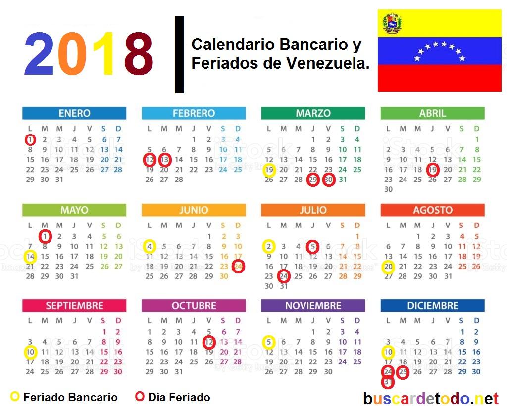 Calendario 2018 Argentina Con Feriados
