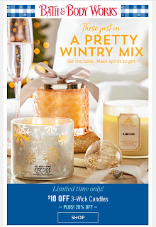 Bath & Body Works | Today's Email - December 9, 2019