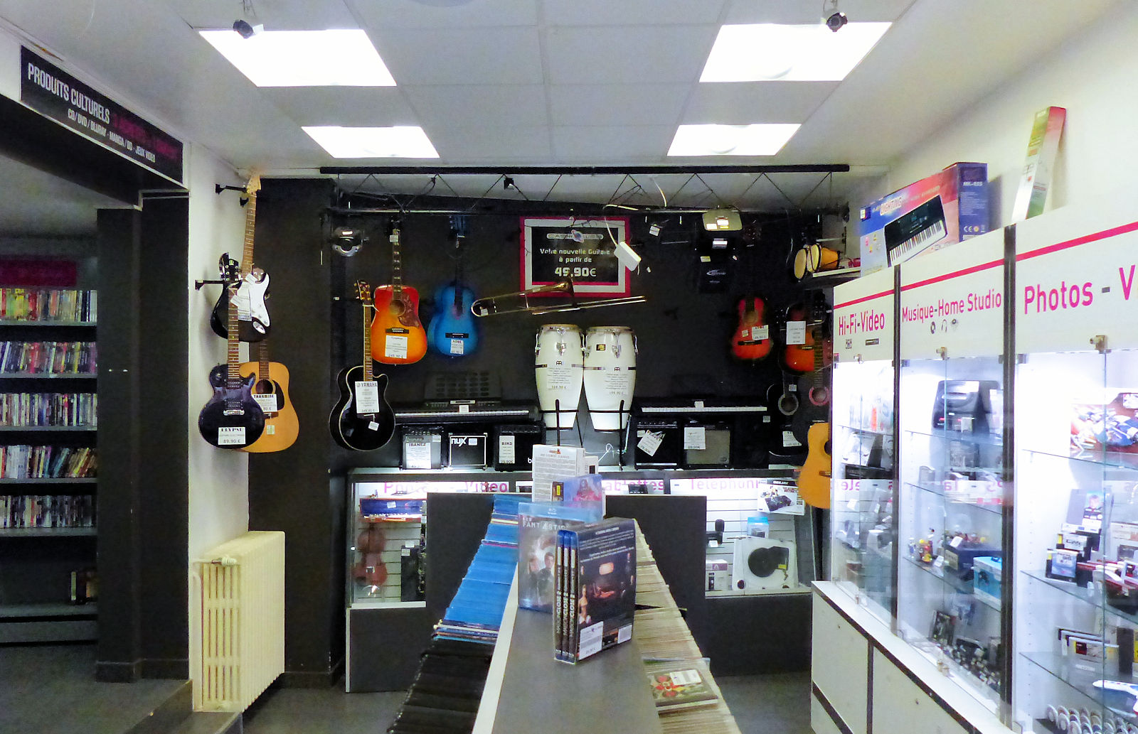 Cash Web Tourcoing - Intérieur Boutique