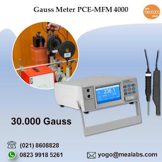 Alat Ukur Kekuatan Magnet PCE-MFM 4000