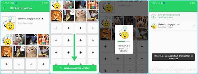 Cara Membuat Stiker Whatsapp Bergerak Animasi 100 Berhasil Ide Kevin Blog