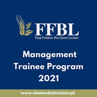 FFBL Management Trainee Program 2021