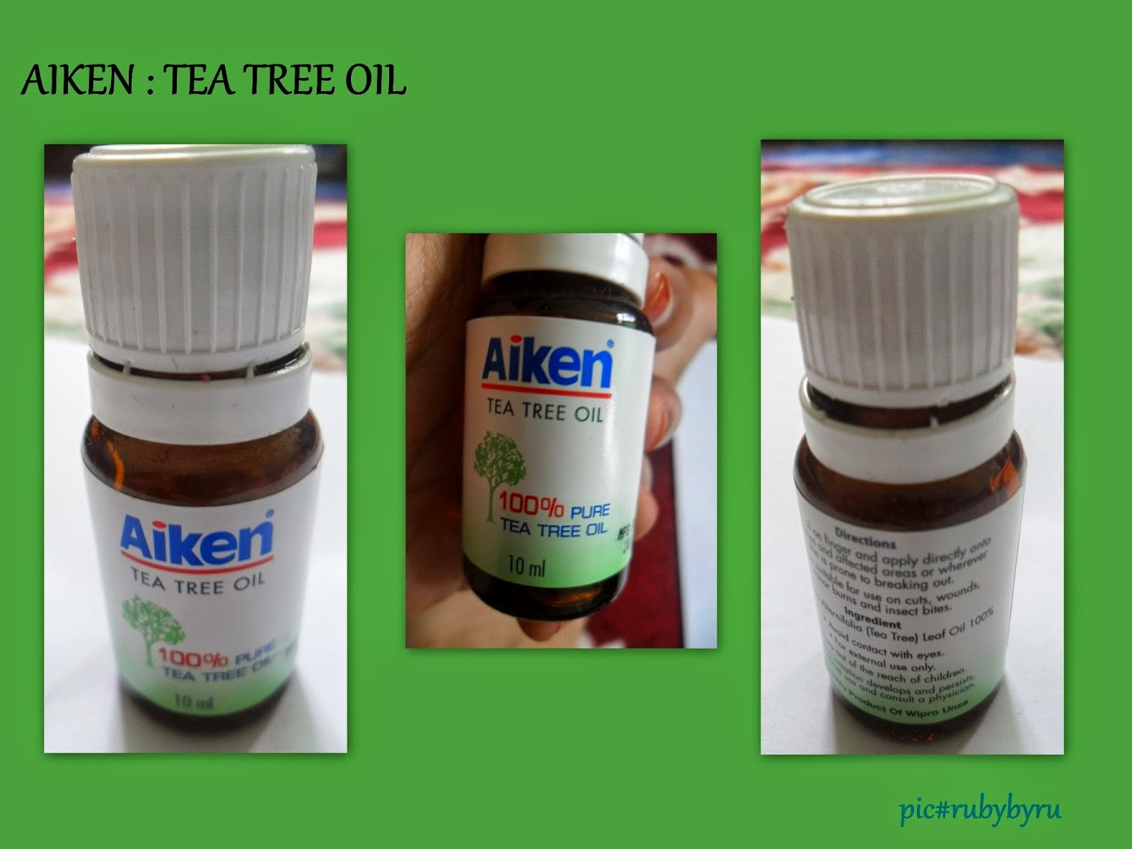Image Result For Tea Tree Oil For Oily Acnee Skin