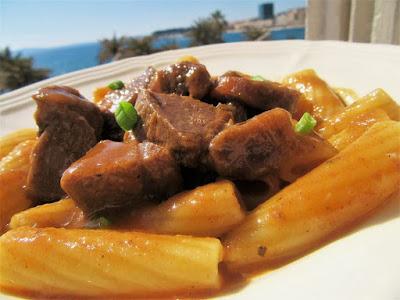 Lešo na gulaš / Boiled lamb stew